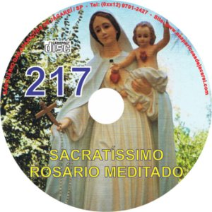CD ROSÁRIO MEDITADO 217