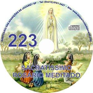 CD ROSÁRIO MEDITADO 223