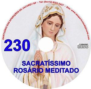 CD ROSÁRIO MEDITADO 230