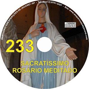 CD ROSÁRIO MEDITADO 233