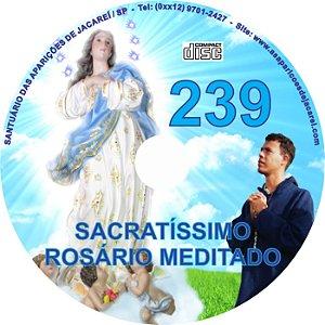 CD ROSÁRIO MEDITADO 239