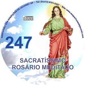 CD ROSÁRIO MEDITADO 247