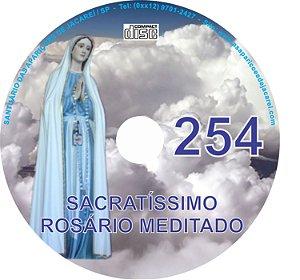 CD ROSÁRIO MEDITADO 254