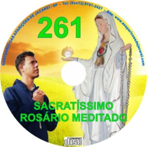 CD ROSÁRIO MEDITADO 261