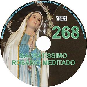 CD ROSÁRIO MEDITADO 268