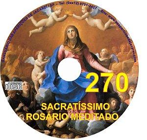 CD ROSÁRIO MEDITADO 270