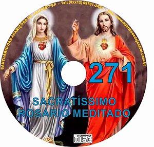 CD ROSÁRIO MEDITADO 271