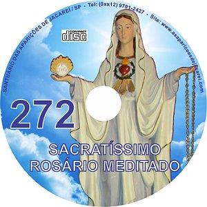 CD ROSÁRIO MEDITADO 272
