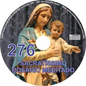 CD ROSÁRIO MEDITADO 276