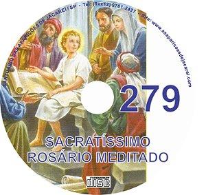 CD ROSÁRIO MEDITADO 279
