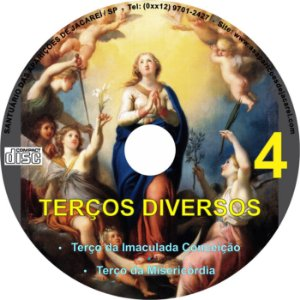 CD TERÇOS DIVERSOS 04