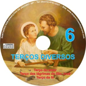 CD TERÇOS DIVERSOS 06