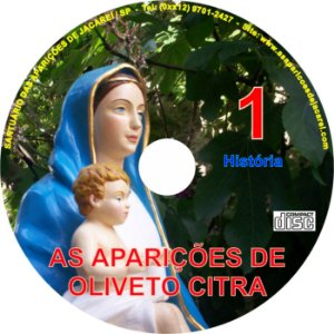CD AS APARIÇÕES DE OLIVETO CITRA 01