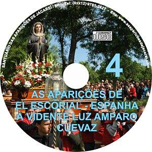 CD AS APARIÇÕES DE EL ESCORIAL - ESPANHA À VIDENTE LUZ AMPARO CUEVAZ 04
