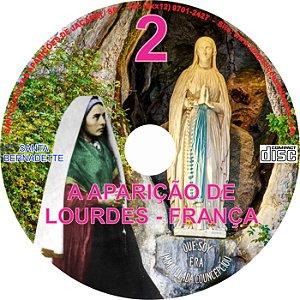 CD  APARIÇÃO DE LOURDES - FRANÇA 02