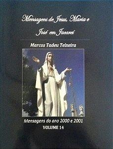 LIVRO DE MENSAGENS- VOLUME 14- ANOS 2000 - 2001