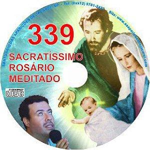 CD ROSÁRIO MEDITADO 339
