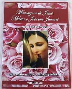 LIVRO DE MENSAGENS- VOLUME 20- (NOVEMBRO DE 2014 A JANEIRO DE 2015)