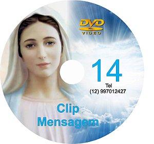 DVD CLIP DE MENSAGENS DE NOSSA SENHORA 014