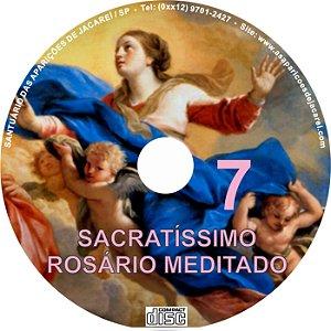 SACRATÍSSIMO ROSÁRIO MEDITADO 007