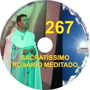 SACRATÍSSIMO ROSÁRIO MEDITADO 267