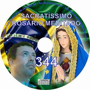 CD ROSÁRIO MEDITADO 344