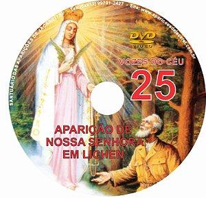 FILME VOZES DO CÉU 25 - APARIÇÃO DE NOSSA SENHORA EM LICHEN -POLÔNIA