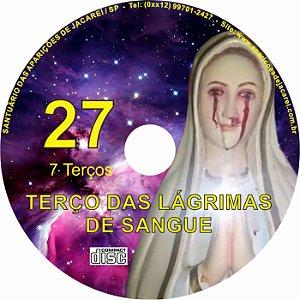 CD TERÇO DAS LAGRIMAS DE SANGUE 27