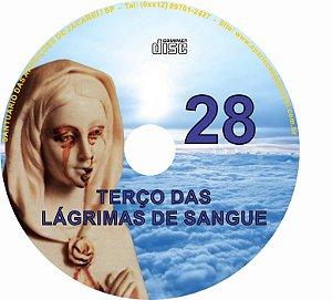 CD TERÇO DAS LAGRIMAS DE SANGUE 28
