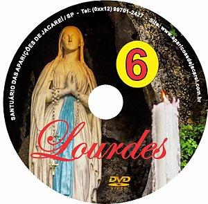 DVD- FILME AS APARIÇÕES DE LOURDES 6