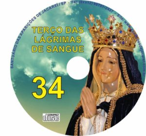 CD TERÇO DAS LAGRIMAS DE SANGUE 34