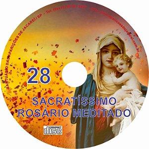 CD ROSÁRIO MEDITADO 028
