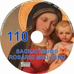 CD ROSÁRIO MEDITADO 110