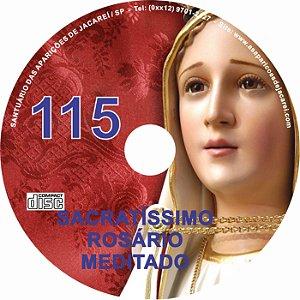 CD ROSÁRIO MEDITADO 115