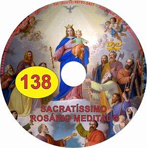 DVD ROSÁRIO MEDITADO EM VIDEO 138