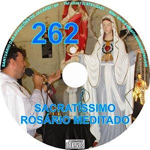 CD ROSÁRIO MEDITADO 262