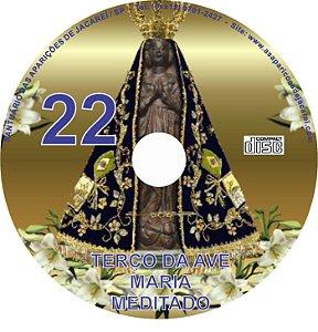 CD TERÇO DA AVE MARIA MEDITADO 22