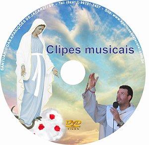 DVD CLIPES MUSICAIS