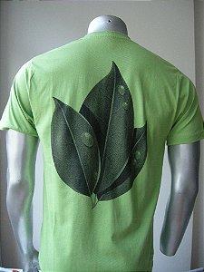 Camisa de Malha (Penteada 30.1)  - Folha