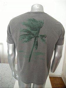 Camisa Estonada - Coqueiro