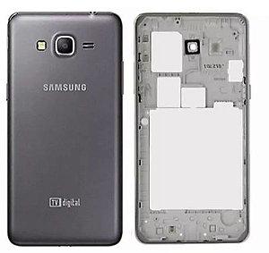 Carcaça para Samsung Grand Prime G530 com Tampa Traseira