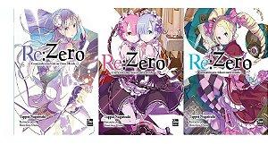 Re:Zero – Começando uma Vida em Outro Mundo - Novel - NewPop