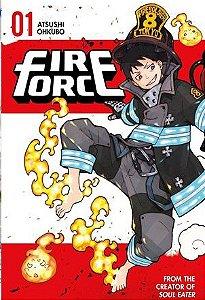 FIRE FORCE MANGÁ - PANINI