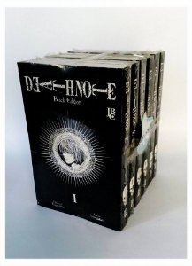 PACK DEATH NOTE BLACK EDITION - COMPLETO - 6 VOLUMES