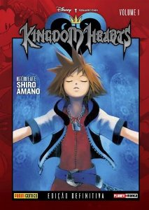 MANGA KINGDOM HEARTS - EDIÇAO DEFINITIVA - PANINI