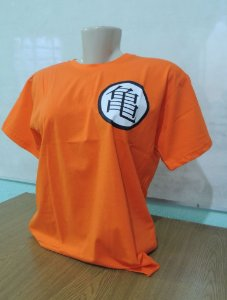 CAMISETA DRAGON BALL - LARANJA