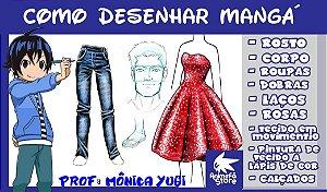 CURSO DE DESENHO COM MONICA YUGI (ESTILO MANGÁ)
