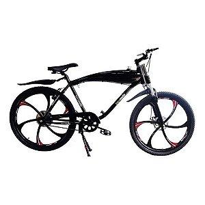 Bicicleta Tanque Embutido - Alumínio Reforçado