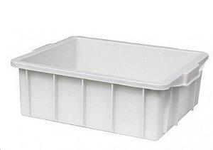 Caixa plástica 15 litros branca