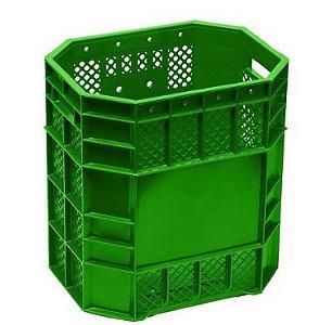 Caixa Plástica Vazada 70 Litros Verde - PN 70
